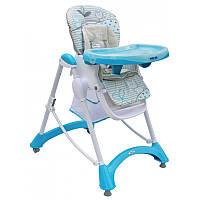 Детский стульчик для кормления Alexis-Babymix YQ-198 blue