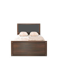 Кровать односпальная LOZ/90t (каркас) (вставка серая ткань) Палемо (Гербор /Gerbor) 950х2050х465/905мм
