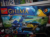 Конструктор ЧИМА CHIMA Машина вездеход 383 дет