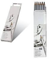 Набор простых карандашей 12 шт MARCO