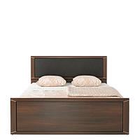 Кровать полуторная LOZ/140k (каркас) (вставка серый к/з BOOM-24) Палемо  (Гербор /Gerbor) 1450х2050х465/905мм
