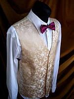 Стильная свадебная нарядная жилетка (Жилет)