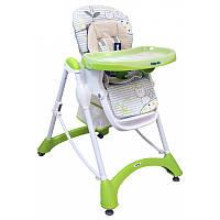 Детский стульчик для кормления Alexis-Babymix YQ-198 green