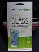 Защитное стекло для LG X155 MAX Bello 2 закаленное 0.3 mm 2.5D 9H