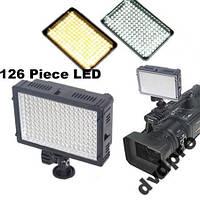 Накамерный свет 126 LED TRIOPO TTV-126