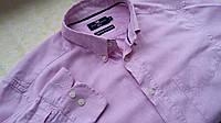 Рубашка розовая Marks & Spencer котон Размер М