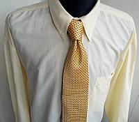 Желтая рубашка котон Размер ХХЛ