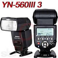 Вспышка Yongnuo YN560-III Canon Nikon Pentax