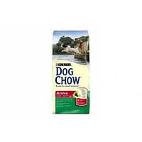 Dog Chow (Дог Чау) Active 14 кг -корм для активных собак