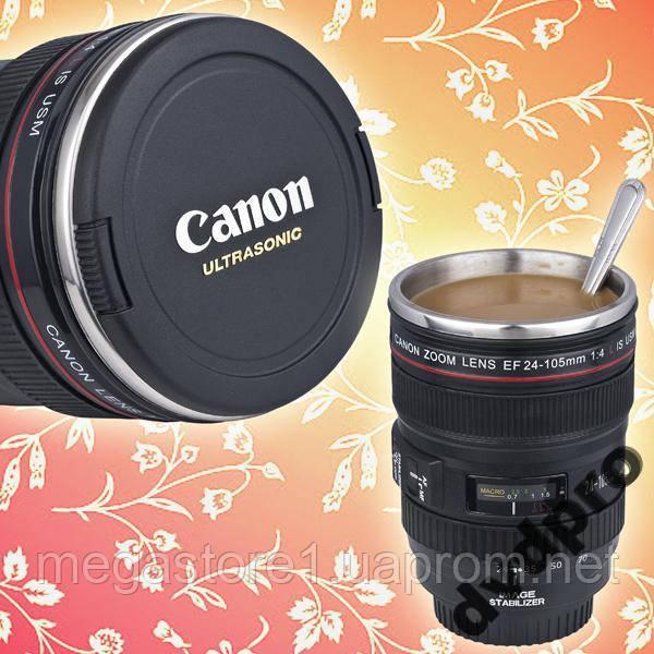 Объектив-кружка  Canon EF 24-105mm. Лучшая копия!