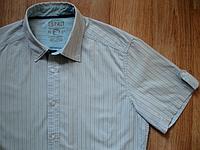 Рубашка мужская *ESPRIT * ОРИГИНАЛ Короткий рукав Хорошее состояние, фото 1