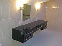 Подвесная тумба в ванной комнате под заказ