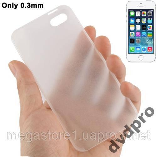 Чехол тонкий для iPhone 4 4S ultra slim 0.3mm
