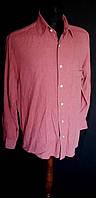 Рубашка Van Hausen красная оксфорд котон Размер  M