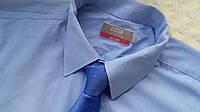 Рубашка голубого цвета Marks & Spencer Раз. 17