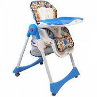 Детский стульчик для кормления Alexis-Babymix YB602A blue