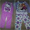 """Детские пижамы для девочек """"Hello Kitty"""" и """"Холодное сердце"""""""