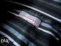 Мужская черная рубашка JEFF BANKS (Англия) полоска