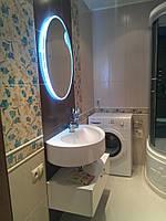 Дизайнерская тумба в ванной комнате