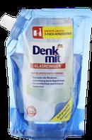 Средство для мытья стекла и пластика  Denkmit Glasreiniger  (Запаска на 1000 мл).