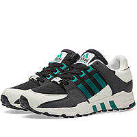 Оригинальные  кроссовки Adidas EQT Running Support OG Black, Sub Green & White