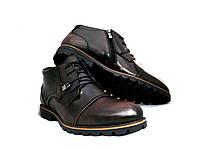 Ботинки мужские Броги с натуральной кожи L-Style
