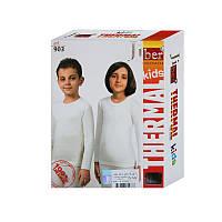 Термокофта детская Jiber молочная, детское термобелье, фото 1