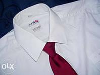 Белая рубашка фирмы First. Размер L.