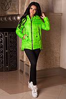 Женская молодежная осенняя куртка р. 44-56 арт. 959 Тон 18