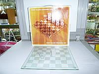 Стеклянные шахматы. настольная игра для взрослых