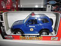 Машинка металлическая моделька полиция