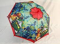 """Детские зонты для мальчиков № 017 с """"Нинзяго"""" от Paolo"""