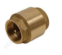 """Обратный клапан ∅ 1 1/4"""", латунный шток (стандарт)"""