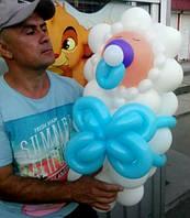Новорожденный из шаров