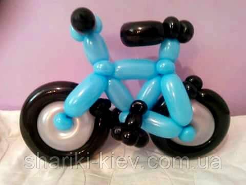 Велосипед из шаров