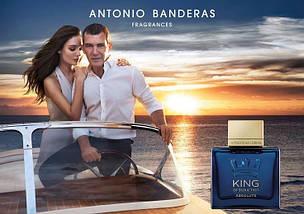 Antonio Banderas King of Seduction Absolute туалетная вода 100 ml. (Антонио Бандерас Кинг оф Седакшн Абсолют), фото 3
