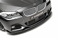 Сплиттер губа обвес переднего бампера BMW F10 M tech стиль Hamann