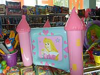 Надувной бассейн- манеж- корзина для игрушек 3 в 1