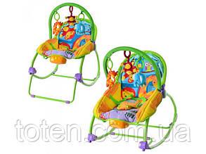 Детское кресло - шезлонг M 1539-2, 2 положения спинки