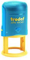 Оснастка для круглой. печати ф40 мм TRODAT 46040 сине-желтый