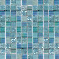 Голубая мозаика для ванной Vivacer HL72