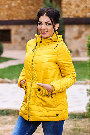 ДС1913 Куртка женская на холлофайбере , фото 2