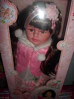 Кукла Красотка мягкотелая говорящая