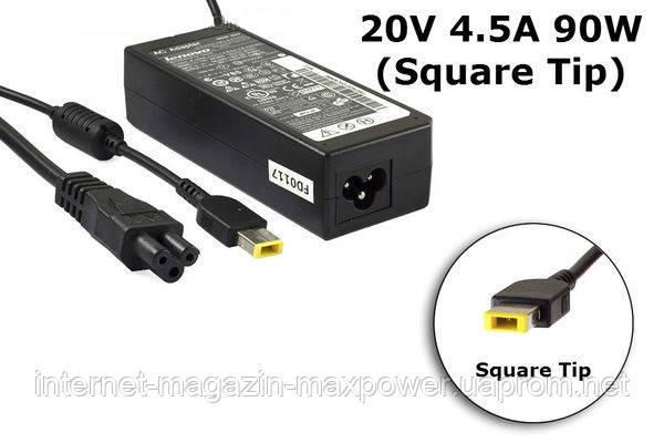 Блок питания для ноутбука Оригинальный Lenovo 20V 4.5A 90W (Square Type) PA-1450-12, G700, G710, U330, U430