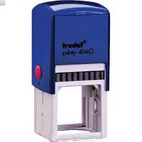 Оснастка для кругл. печатки ф40мм TRODAT 4940 синяя и футляром