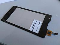 Тачскрин (сенсор) для мобильного телефона (смартфона) Lenovo A1000 (black) Original