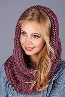 Красивый шарф хомут женский