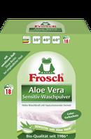 Стиральный порошок-концентрат Алое Вера с УФ-фильтром Колор Frosch Aloe Vera  1.35 кг
