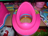 Накладка на унитаз детская пластиковая под ободок