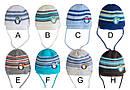 Комплект зимний Пингвин: шапка и шарф для младенца, фото 2